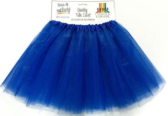 tulle skirt royal blue impact agencies qld