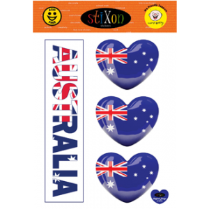 Aus Car Sticker